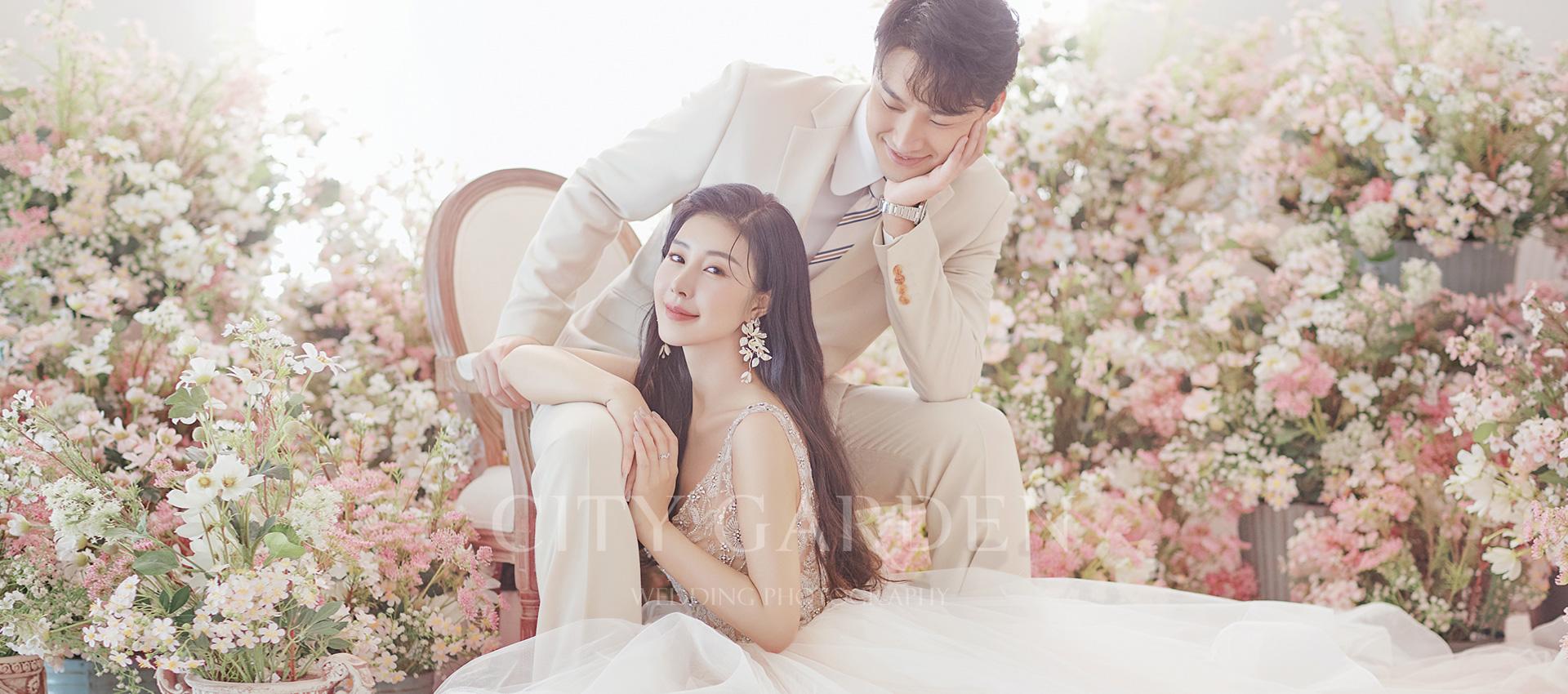 韩式肖像婚纱照