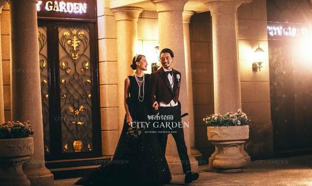 夜·未央风格北京婚纱照我们的夜景,真的很美!