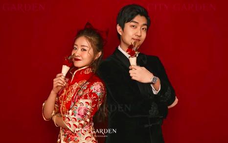 北京婚纱摄影婚纱照客片合集|开年正当红,新年贺岁档客照大赏