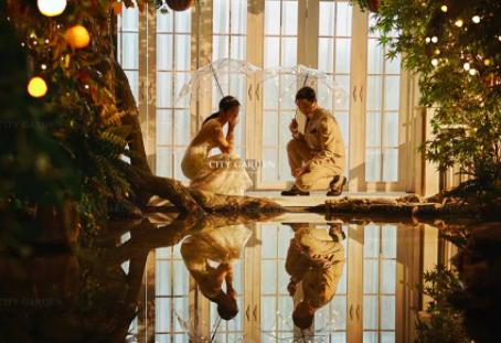 NOCTURNE·夜曲|遥遥微光与我同行,花园夜景系列