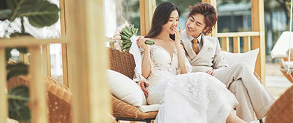 用婚纱照客片说话,如何拍到满意的婚纱照.