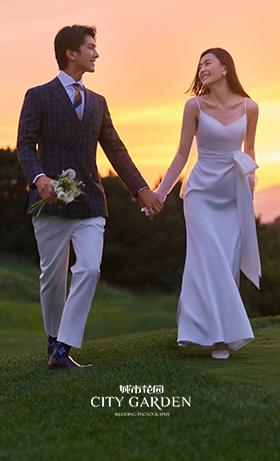 金海湖婚纱照