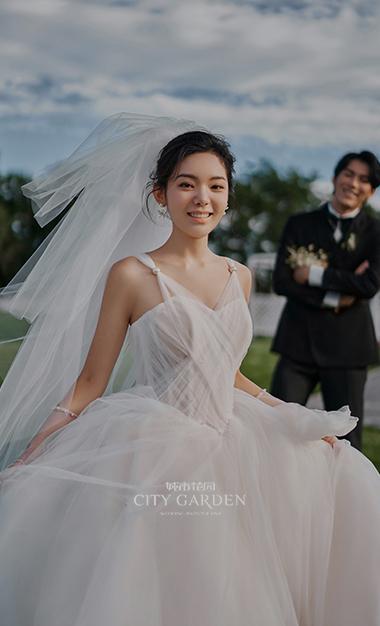 露娜花园婚纱照