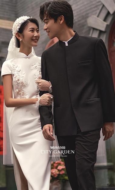 旗袍婚纱照